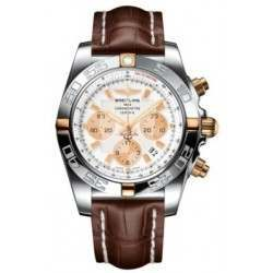 Breitling Chronomat 44 (Two-Tone) Caliber 01 Automatic Chronograph IB011012.A696.739P