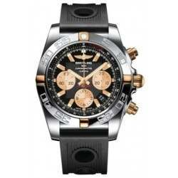 Breitling Chronomat 44 (Two-Tone) Caliber 01 Automatic Chronograph IB011012.B968.200S