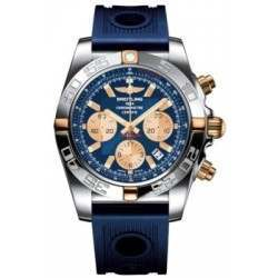 Breitling Chronomat 44 (Two-Tone) Caliber 01 Automatic Chronograph IB011012.C790.211S