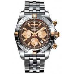 Breitling Chronomat 44 (Two-Tone) Caliber 01 Automatic Chronograph IB011012.Q576.375A