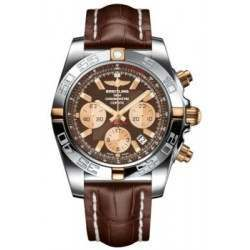 Breitling Chronomat 44 (Two-Tone) Caliber 01 Automatic Chronograph IB011012.Q576.739P