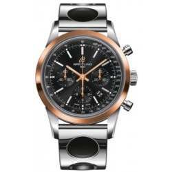 Breitling Transocean Chronograph Caliber 01 Automatic UB015212.BC74.222A