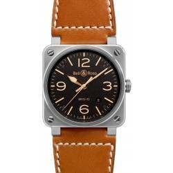 Bell & Ross BR 03-92 Golden Heritage BR0392-ST-G-HE/SCA