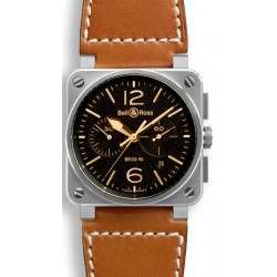 Bell & Ross BR 03-94 Chronographe Golden Heritage BR0394-ST-G-HE/SCA