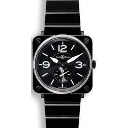 Bell & Ross BR S Quartz Black ceramic & diamonds BRS-BLCE-DIAM/SCE