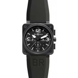 Bell & Ross BR 01-94 Chronographe Carbon BR0194-BL-CA