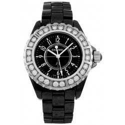 Chanel J12 Black Ceramic H1173