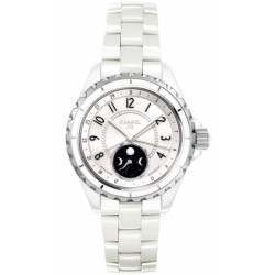 Chanel J12 White Automatic Moon Phase H3404