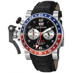Graham Chronofighter Oversize GMT 2OVHS.B39A