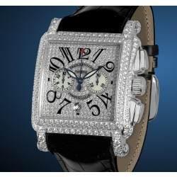 Franck Muller Conquistador Cortez Chrono White Diamond 10000 H CC DCD