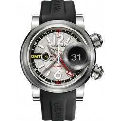 Graham Swordfish Grillo Alarm GMT Silver Eye 2SWGS.S08A