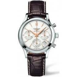 Longines Column-Wheel Chronograph Heritage L2.742.4.76.2