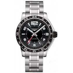 Longines Admiral GMT Second Time Zone Automatic L3.668.4.56.6