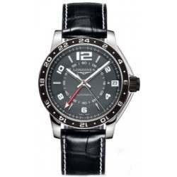 Longines Admiral GMT Second Time Zone Automatic L3.668.4.79.0