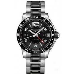 Longines Admiral GMT Second Time Zone Automatic L3.669.4.56.7