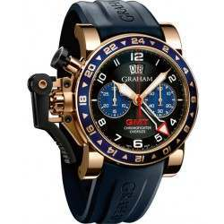 Graham Chronofighter Oversize GMT 2OVGR.B26A