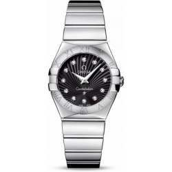 Omega Constellation Polished Quartz Diamonds 123.10.27.60.51.002