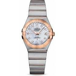Omega Constellation Brushed Chronometer 123.20.27.20.55.001