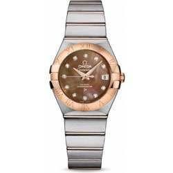 Omega Constellation Brushed Chronometer 123.20.27.20.57.001