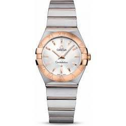 Omega Constellation Brushed Quartz 123.20.27.60.02.001