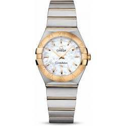 Omega Constellation Brushed Quartz 123.20.27.60.05.002