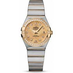 Omega Constellation Brushed Chronometer 123.25.27.20.58.001