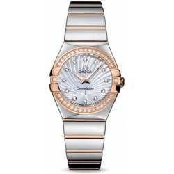 Omega Constellation Polished Quartz Diamonds 123.25.27.60.55.006