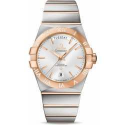 Omega Constellation Day-Date Chronometer 123.25.38.22.02.001