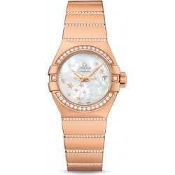 Omega Constellation Brushed Chronometer 123.55.27.20.05.004