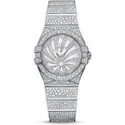 Omega Constellation Luxury Edition Diamonds 123.55.27.60.55.010