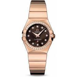 Omega Constellation Polished Quartz Diamonds 123.55.27.60.63.002