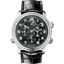 Blancpain Leman GMT Alarm Watch 2041-1130M-53B