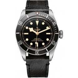 Tudor Heritage Black Bay Black Leather 79230N