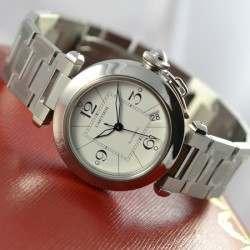 Cartier Pasha C Medium W31074M7