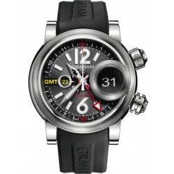 Graham Swordfish Grillo Alarm GMT Black Eye 2SWGS.B23A