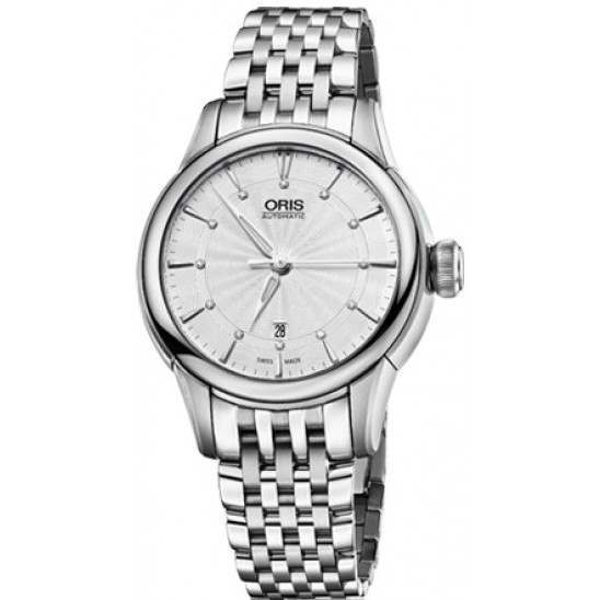 Oris Artelier Date, Diamonds 01 561 7687 4051-07 8 14 77