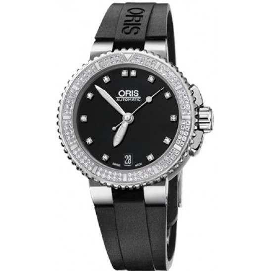 Oris Aquis Date Diamonds 01 733 7652 4994-07 4 18 34