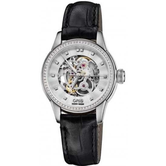 Oris Artelier Skeleton Diamonds 01 560 7687 4919-07 5 14 60FC