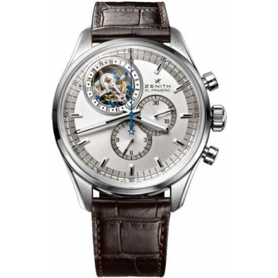 Zenith Tourbillon Chrono. With date 03.2050.4035/01.C713