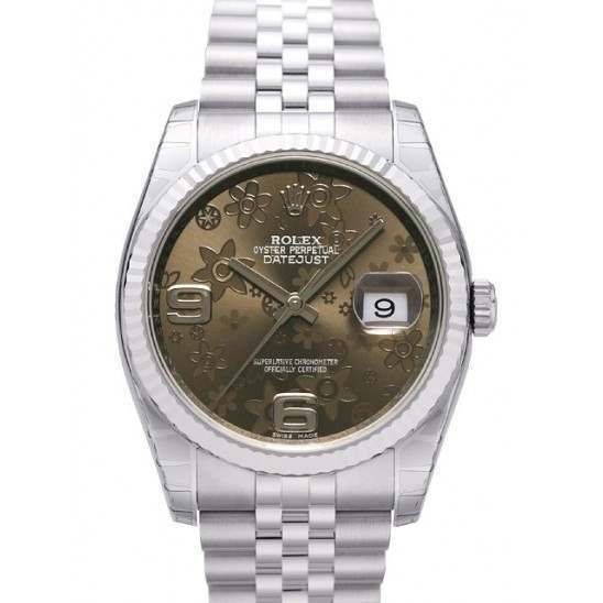 Rolex Datejust Bronze Arab Jubilee 116234