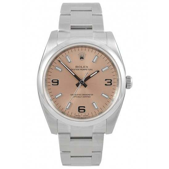 Rolex Oyster Perpetual Pink Arab Oyster 114200