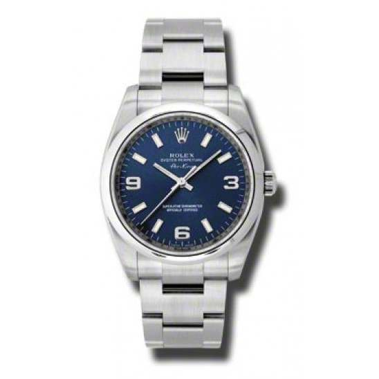 Rolex Oyster Perpetual Blue Arab Oyster 114200