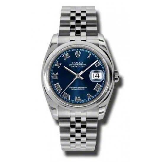 Rolex Datejust Blue Roman Jubilee 116200