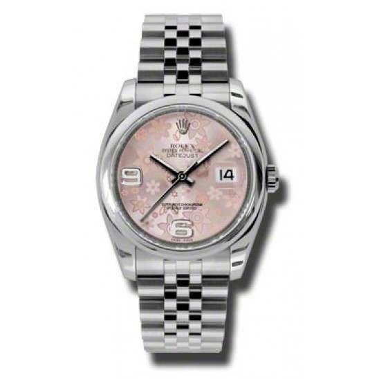 Rolex Datejust Pink Arab Jubilee 116200