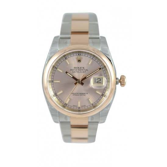 Rolex Datejust Pink/index Oyster 116201