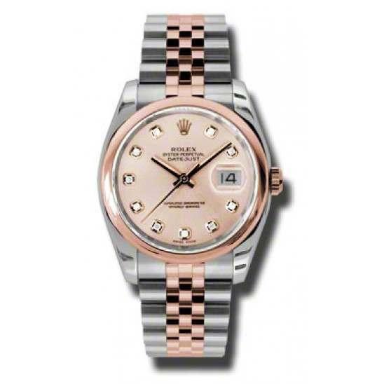 Rolex Datejust Pink/Diamond Jubilee 116201