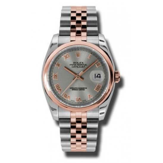Rolex Datejust Steel Roman Jubilee 116201