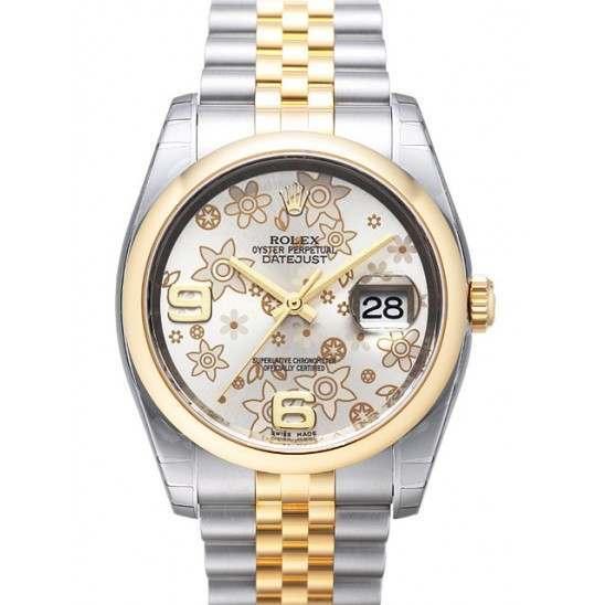 Rolex Datejust Silver Arab Jubilee 116203