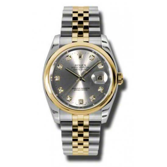 Rolex Datejust Steel/Diamond Jubilee 116203