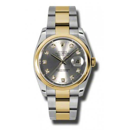 Rolex Datejust Steel/Diamond Oyster 116203